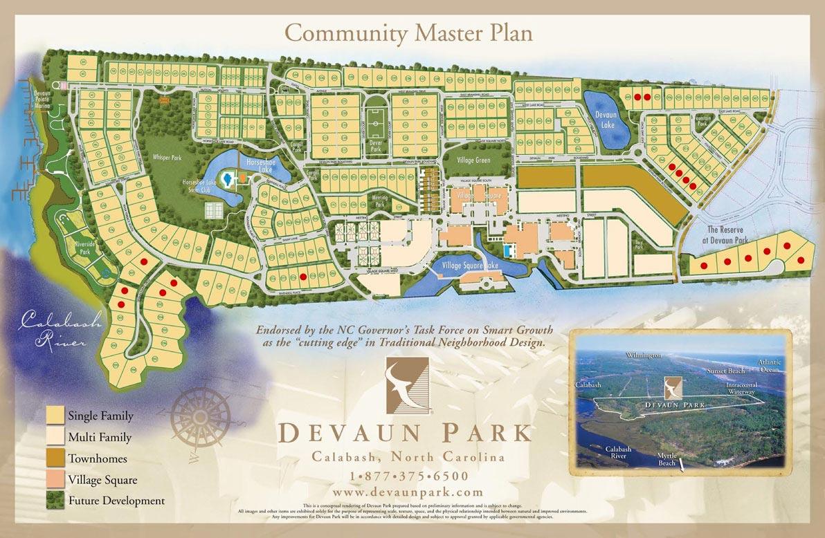 Devaun Park Calabash Nc Traditional Neighborhood Design